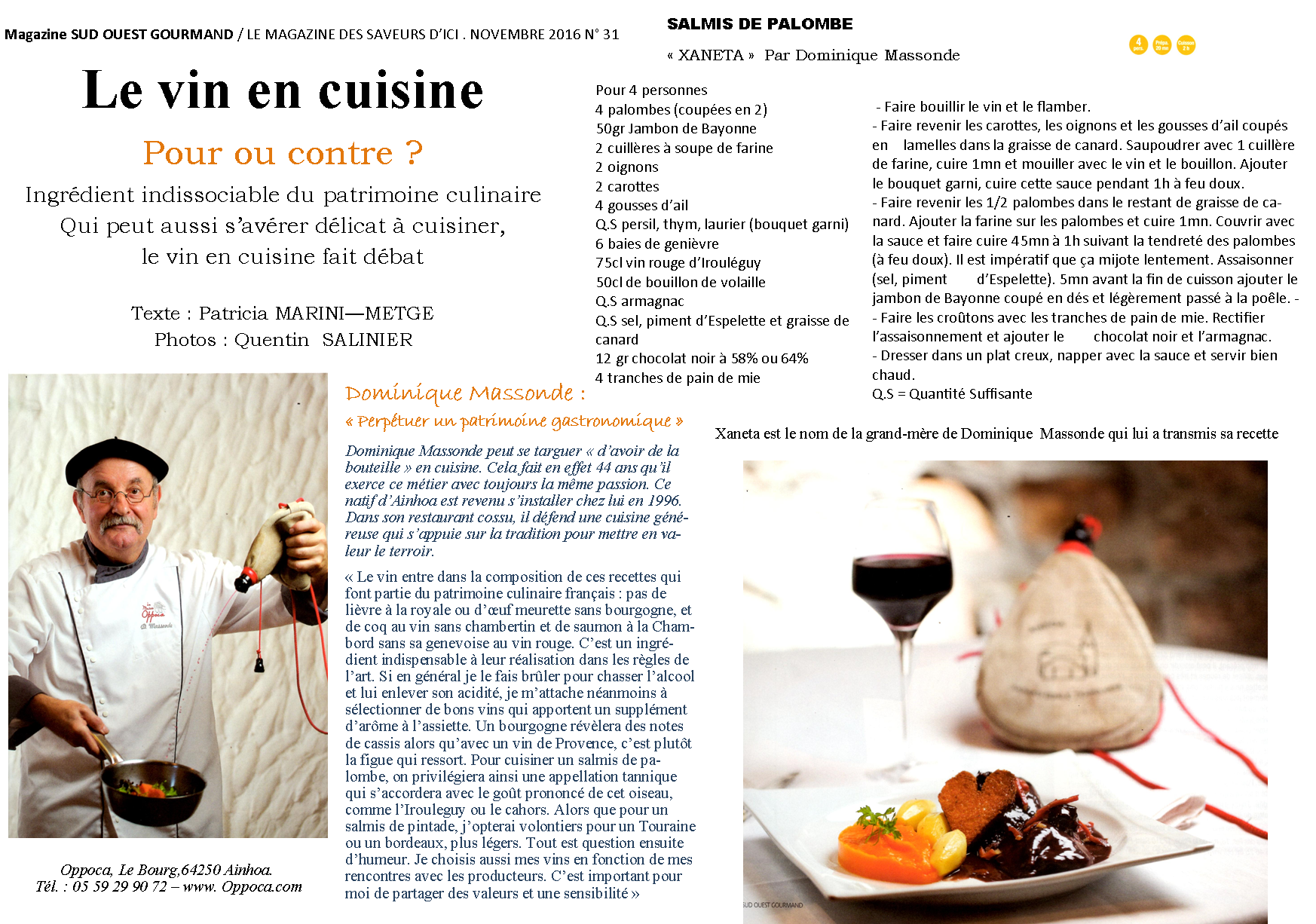 article-sud-ouest-gourmand