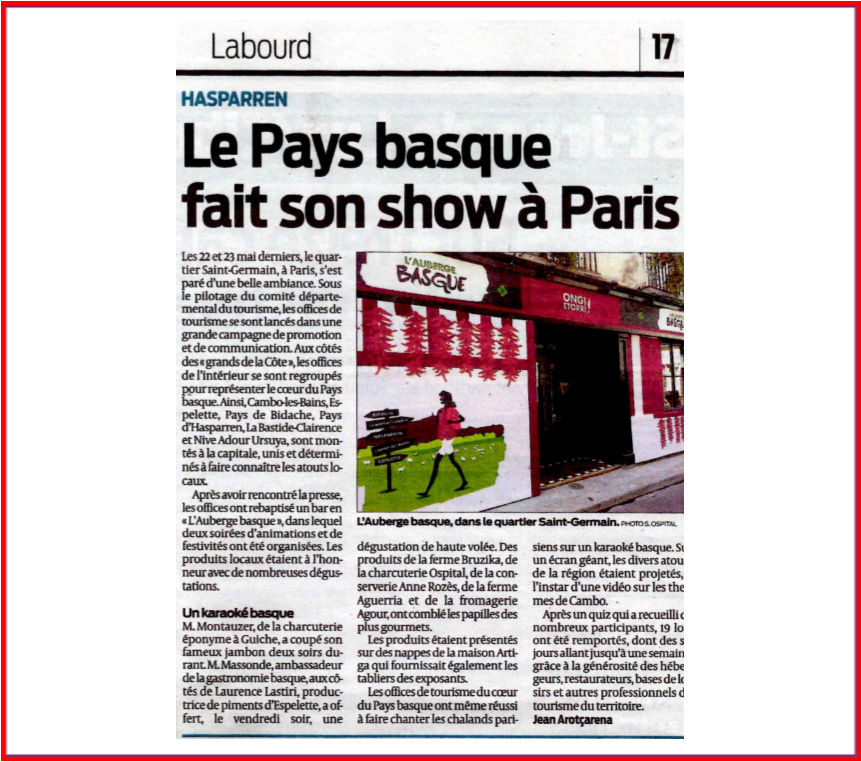 pays basque paris