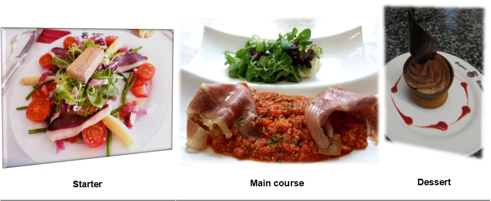 Your group meal in the basque country